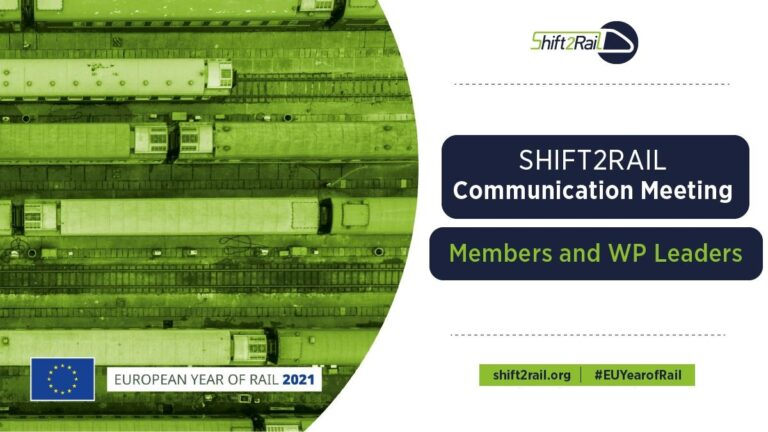 AB4Rail joined the Shift2Rail's Communication Meeting!