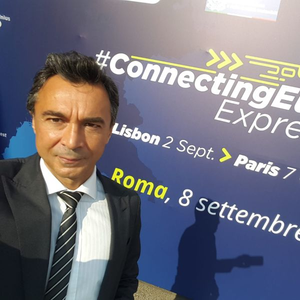 Guglielmo Marconi University hopped on the CONNECTING EUROPE EXPRESS in Rome!